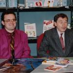 Rajko Doleček a Leoš Středa v roce 1992